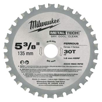 Milwaukee Metal Circ Saw